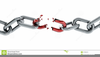 Broken Chain Clipart Free Image