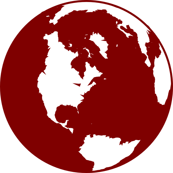red globe clip art at clker com