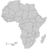 Px Blank Map Africa Image