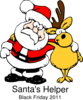 Santa S Helper Clip Art