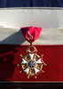 A Close Up Shot Of The Legion Of Merit As It Hangs On A Presentation Frame Which Was Presented To Vice Admiral Cees Van Duyvendijk, Commander In Chief, Royal Netherlands Navy Image