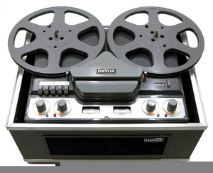 Tape Recorder Clipart Image