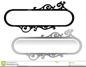 Decorative Header Clipart Image