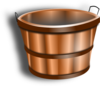 Wood Bucket Clip Art