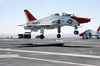 A T-45 Goshawk Lands On The Flight Deck Aboard Uss John C. Stennis (cvn 74) Image