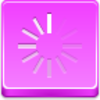Free Pink Button Loading Throbber Image