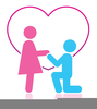 Couple In Love Clipart Image