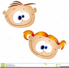 Goofy Grin Clipart Image