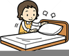 Clipart Pictures Of Making Bed Image