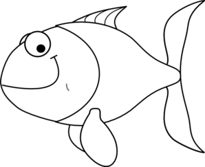 white fish clip art at clker com vector clip art online eyes outline clip art Eye Clip Art Black and White