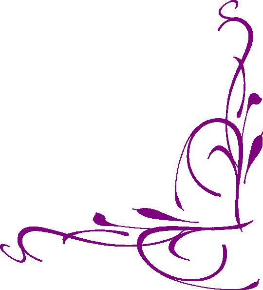 Floral Swirly Clip Art At Clker Com Vector Clip Art
