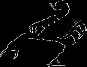 scorpion clip art at clker com vector clip art online Fleur De Lis Outline Saints Fleur De Lis Clip Art