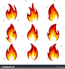 Free Clipart Candle Flames Image