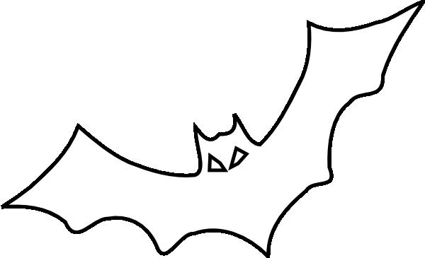 Bat Outline Clip Art At Clker.com