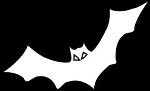 Clipart Bat Outline