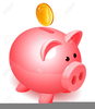 Broken Piggy Bank Clipart Free Image