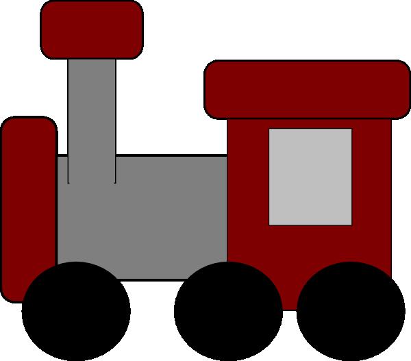 Red Train Clip Art At Clker Com Vector Clip Art Online