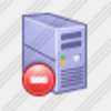 Icon Disconnect Server Image