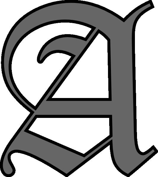 Alphabet Letter A Clip Art at Clker vector clip art online