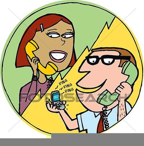 Free Conference Call Clipart Image