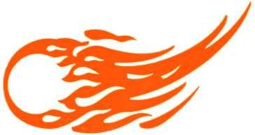 Comet Logo Design