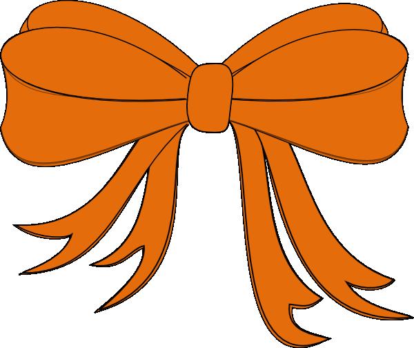 Orange Ribbon Clip Art At Clker Com Vector Clip Art