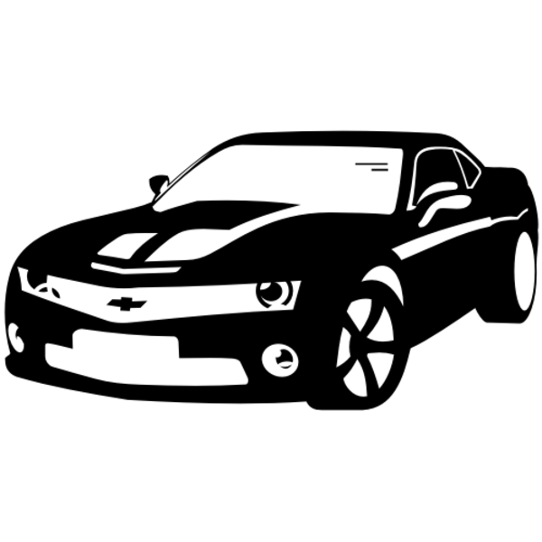 Chevrolet Camaro Vector X Free Images At Clker Com