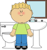 Bathroom Monitor Clipart Image