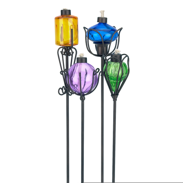 Decorative Citronella Torches Image