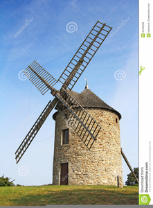 Free Clipart Of Windmill Image
