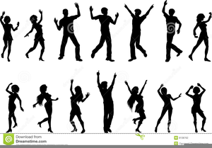 Animated Clipart Of People Dancing Image