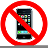 No Ipod Allowed Clipart Image