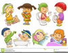 Clipart Bathroom Activities Image
