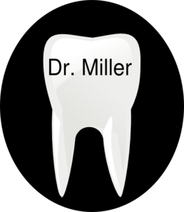 Tooth Name Tag1 Clip Art