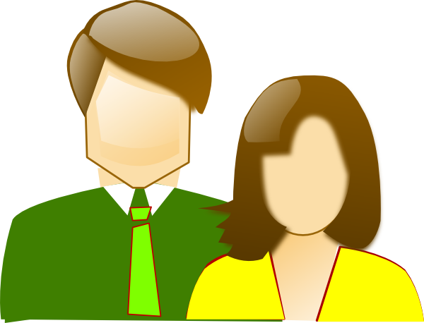 Mother And Father Clip Art at Clker.com - vector clip art ...