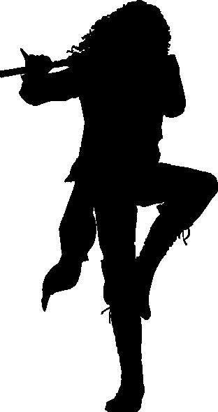 Fiddler Silhouette Clip Art At Clker Com Vector Clip Art