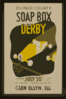 Du Page County Soap Box Derby ... Glen Ellyn, Ill.  / Beard. Clip Art