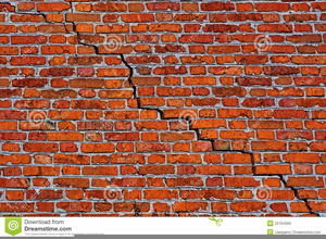Brick Wall Background Clipart Image