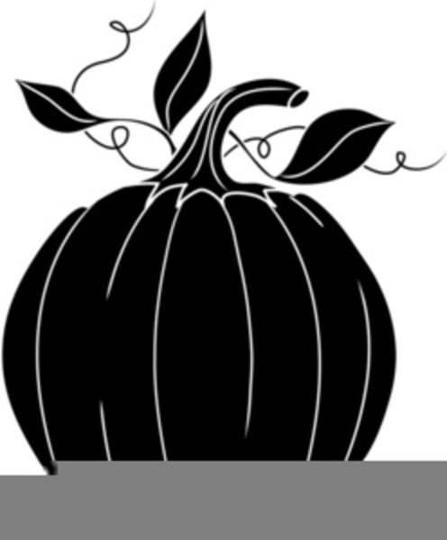 Pumpkin Patch Clipart Black And White | Free Images at ...