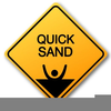 Don Walk Sign Clipart Image