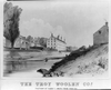 The Troy Woolen Cos., Factory At  Albia  2 1/2 Miles From Troy N.y. Image