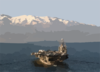 Uss George Washington (cvn 73) Enters Souda Bay, Crete, Greece For A Port Call. Clip Art