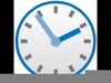 Ticking Clock Animation Clipart Image