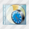Icon Cd Box Clock Image