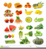 Free Clipart Fruits And Veggies Image