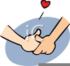Keep Your Hands To Yourself Clipart Image