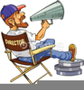 Film Producer Clipart Image