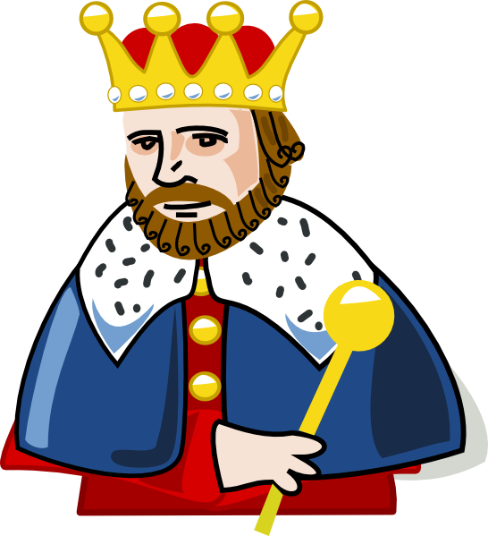 Clipart King Solo on King And Queen Clip Art