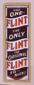 The One Flint, The Only Flint, The Original Flint To-night Clip Art