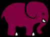 Pink Elephant Clip Art at Clker.com - vector clip art ...
